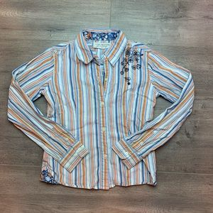 Tommy Hilfiger Stripped Button Shirt M. F